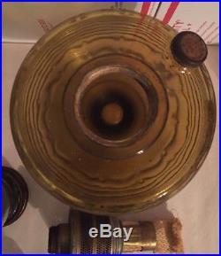 Aladdin Nu Type Model B, Beehive Table Lamp Co, Oil Lamp