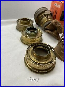 Aladdin Oil Kerosene Model 23 Brass Lamp Burner Parts