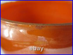 Aladdin Orange Venetian Model Oil Lamp with Model 12 Burner