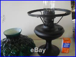 Aladdin Parlor Lamp With Green Artichoke Shade #JBK108-201 (100th) Anniversary