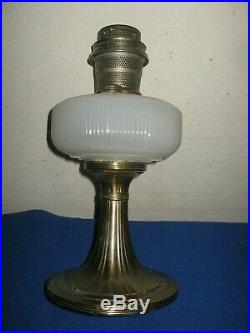 Aladdin Queen Lamp B-95 White Moonstone With B Burner