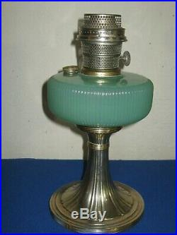 Aladdin Queen Lamp B97 Green Moonstone With B Burner