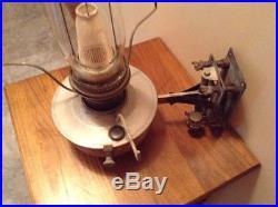 Aladdin Railroad Caboose Kerosene Oil Lamp Withwick Shade Mantle & Wall Bracket