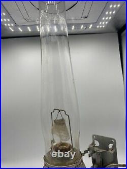 Aladdin Railroad Caboose Model 23 Kerosene Oil Lamp With Bracket