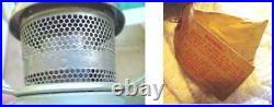 Aladdin Railroad Caboose Train Md 21c Kerosene Oil Lamp w Bracket & More England