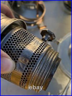 Aladdin Railroad Caboose Train Model 21c vintag Kerosene Oil Lamp w Wall Bracket