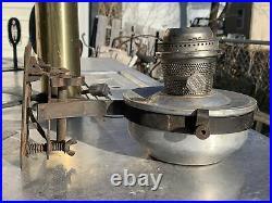 Aladdin Railroad Caboose Train Vintage Kerosene Oil Lamp w Wall Bracket