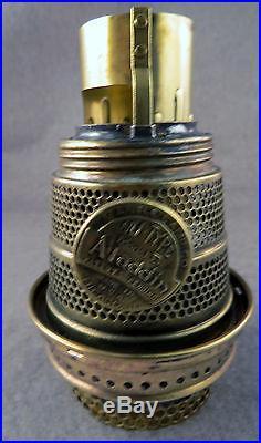 Aladdin Ruby Crystal Beehive Lamp (B-83) with original B Burner (1937-1938)