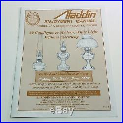 Aladdin Stainless Steel Kerosene Lamp SS2301
