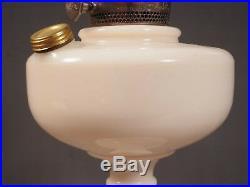 Aladdin White Alacite B-76a Simplicity Kerosene Lamp 23 Burner Mantle Lamp C