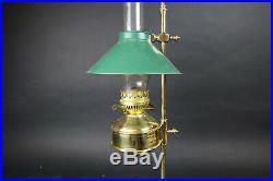 Aladdin brass kerosene Student Lamp