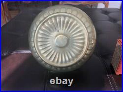 Aladdin kerosene lamp Nu-Type model B brass with new wick cleaner USA