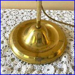 Aladdin model 110 Oil Kerosene Brass #4 Reproduction Student Lamp electric light