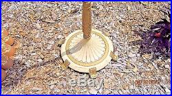 Aladdin oil / kerosene Floor Lamp with new Kenstra shade # 466