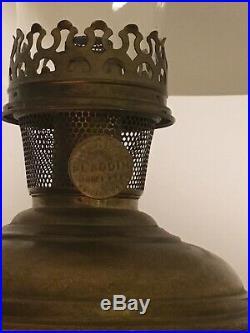 Aladdin oil kerosene hanging lamp #6