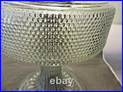 Aladdincolonial Oil Lamp1933 Clear Glass