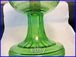 Aladdingreen Beehive Oil Lamp1937-1938