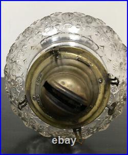 Antique 1880s Glass Aladdin Kerosene Lamp Traditional Rare Vintage Oil Lantern