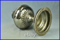 Antique 1905 RAYO ALADDIN STYLE KEROSENE OIL LAMP ORIGINAL B&H CHIMNEY HTF 02102