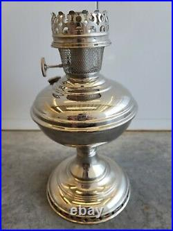 Antique 1915-16 ALADDIN No 6 Kerosene Table Lamp Generator Flame Spreader
