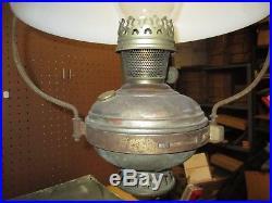 Antique 1915-16 Aladdin Model No 6 Style Hanging Kerosene Lamp