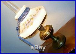 Antique 1915 Aladdin Kerosene Oil Lamp #6 Glass Heelless Chimney 9 Panel Shade