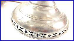 Antique ALADDIN Kerosene Oil Table Lamp Model No 6 Green shade Crescent chimney