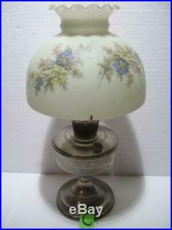 Antique ALADDIN Model 12 Vtg Lamp / Shade MANTLE LAMP CO. Chciago, Ill USA