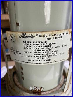 Antique Aladdin Blue Flame Kerosene Flame Heater No. P. 150056 England/usa