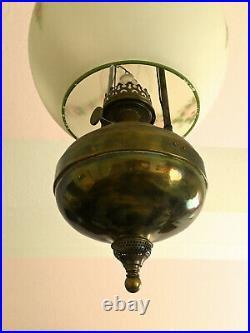 Antique Aladdin Kerosene Oil Lamp Finial For Model 4 Student Lamp