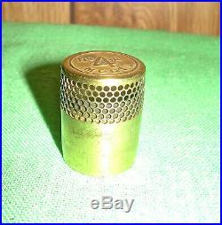 Antique Aladdin Kerosene Oil Lamp Model 4 Flame Spreader
