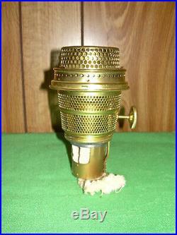 Antique Aladdin Kerosene Oil Lamp Model B Burner Nashville Nos