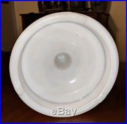 Antique Aladdin Kerosene Oil Lamp Swirl Glass NuType Burner