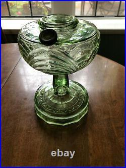 Antique Aladdin Lamp Green Washington Drape