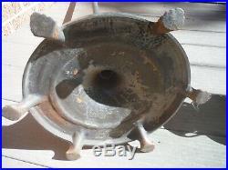 Antique Aladdin Mantle Lamp Floor Oil Kerosene Base Model 2100, Burner Model 12