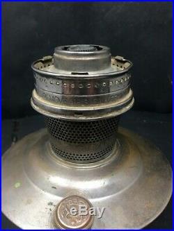Antique Aladdin Model No 21 Kerosene Oil Lamp Made In England