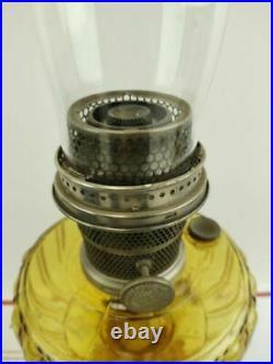 Antique Aladdin Oil Lamp Model B With Chimney Lighting Kerosene Collectible