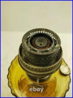 Antique Aladdin Oil Lamp Model B with Chimney Lighting Kerosene Off Grid