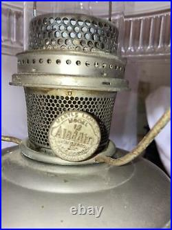 Antique Aladdin kerosene lamp all original