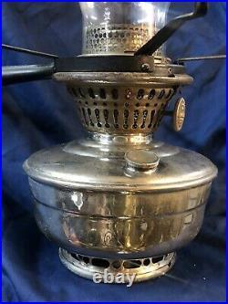 Antique Aladdin model 12 wall sconce lantern with bracket Oil kerosene lamp