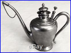 Antique Beautiful Manning-Bowman Company Aladdin Kerosene Lamp Filler in Nickel