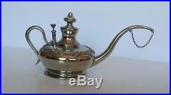 Antique Manning Bowman & Co Aladdin Kerosene Lamp Filler
