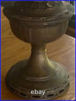 Antique Model 8 Brass Aladdin Kerosene/Oil Lamp non-electrified