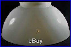 Antique Opal White Glass Hanging Kerosene Lamp Shade 6 & 14 Aladdin No. 203