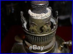 Antique Vintage Non-aladdin Size 0 Little Royal Banquet Oil Kerosene Lamp