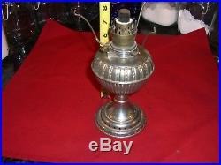 Antique Vintage Non-aladdin Size 0 Little Royal Oil Kerosene Lamp & Shade Part