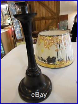 Australian Aladdin Bakelite Lamp, both Font and Pedestal are Bakelite, mod 1609