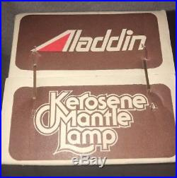 Authentic kerosene mantle aladdin lamp