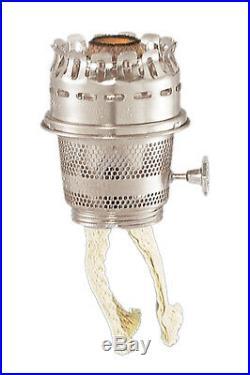 B&P Lamp Aladdin Maxbrite Nickel Plated Burner
