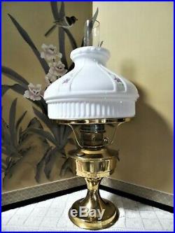 Beautiful Aladdin Oil Lamp No. 23 Hang Painted Shade No. 1 Of 2